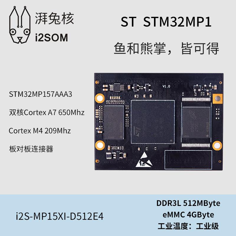 i2S-MP15x系列核心板